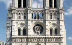 Historic Notre Dame Cathedral catches fire