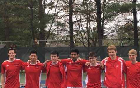 McLean tennis team hosts Yorktown in senior night