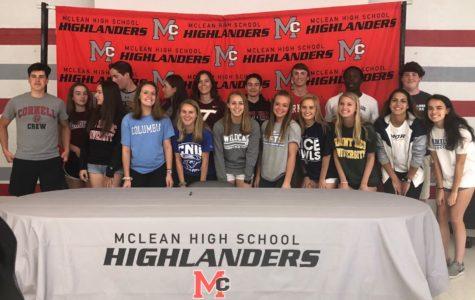 18 seniors sign off