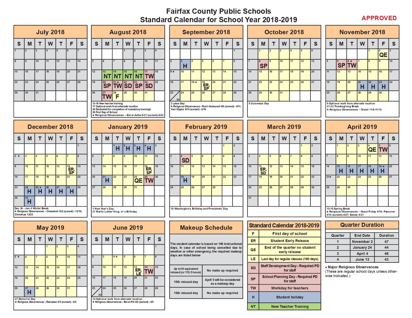 FCPS calendar leaves much to be desired