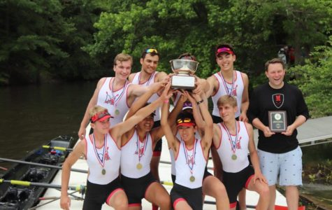 McLean's boys varsity 1 boat shows winning states is a team effort.