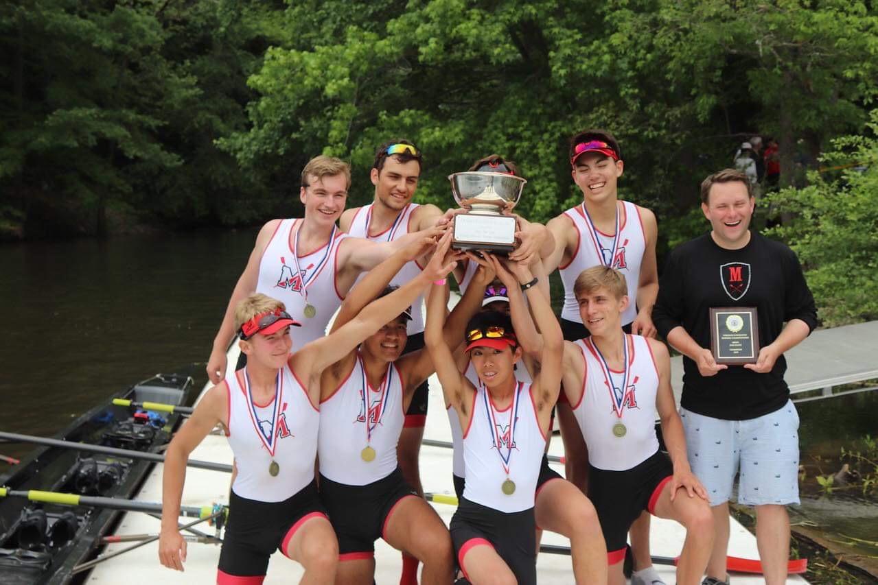 McLean's boys varsity 1 boat shows winning states is a team effort.