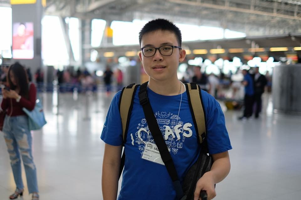 OFF TO AMERICA — On Sept. 11 last year, I flew with three other exchange students from Thailand to Dulles Airport. It was the longest trip I have ever taken in my life.