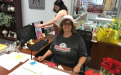 Administrative assistant says goodbye