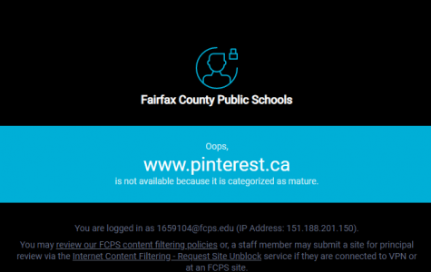 FCPS online filter receive mixed comments