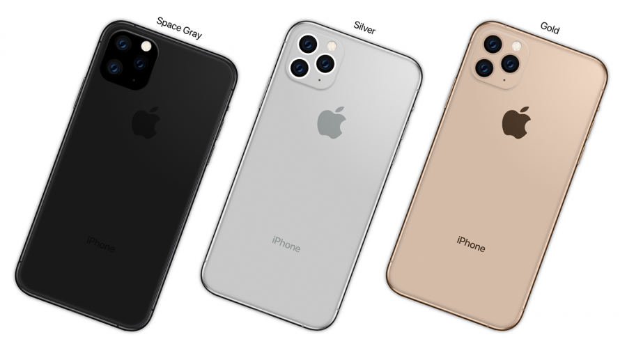 The iPhone 11 Pro features an all-new triple-camera system, and 4 different colors, 3 of which are pictured above. (Photo obtained via Creative Commons)