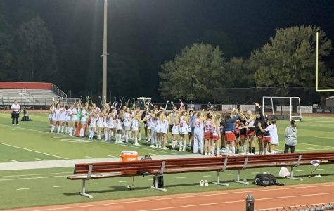 Last home game for varsity field hockey ends in a tragic loss