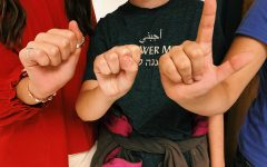 Hands up for ASL
