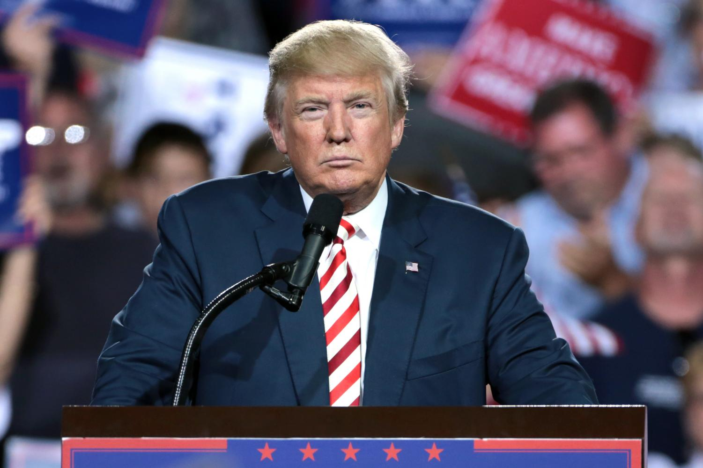 Donald Trump is under impeachment for Ukranian quid pro quo. Photo attained via Creative Commons