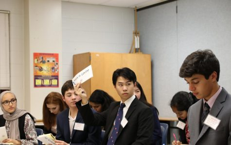 Model United Nations club marks calendars for upcoming events