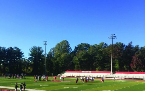 McLean football continues to work hard at practice on Oct. 24 as they prepare for their upcoming games. The team practices 4 days a week with games on Fridays.