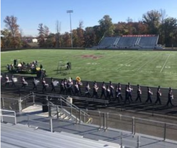 McLean Band Color Guard and Band take first place