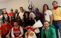 Social studies slays staff costume contest