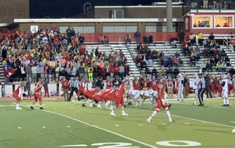 McLean varsity football team shut out on Senior Night to Washington Liberty