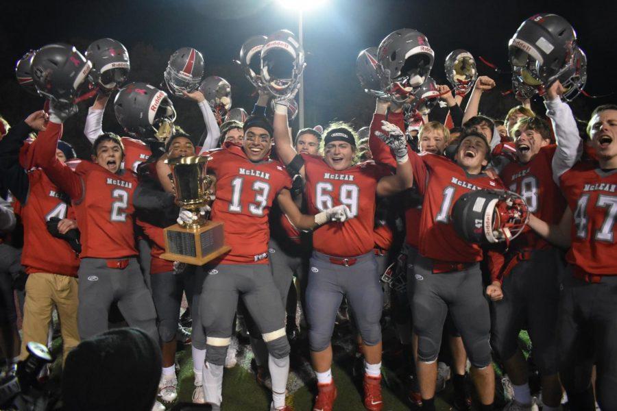 McLean football finishes season on a high