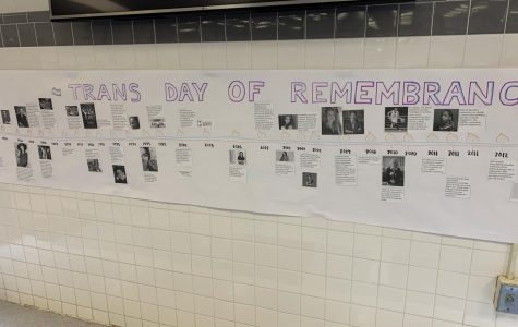 GSA Club spreads awareness on Trans Day of Remembrance