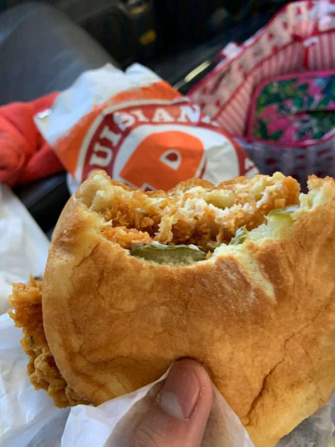 Popeyes is popping off