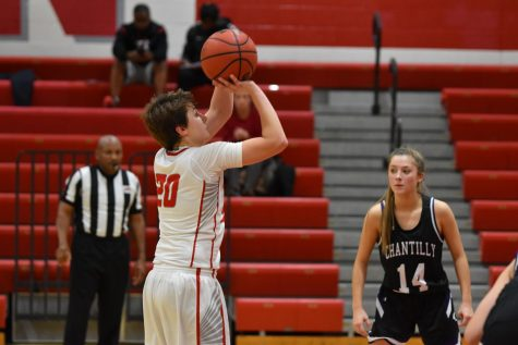 McLean girls basketball loses at Langley