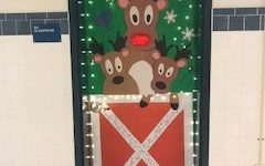 McLean High's halls get decked