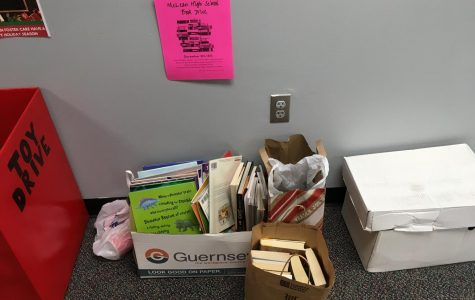 Book drive gives back to the community