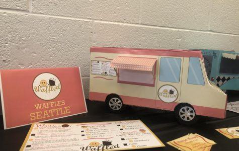 Digital Art class presents Food Truck Project showcase