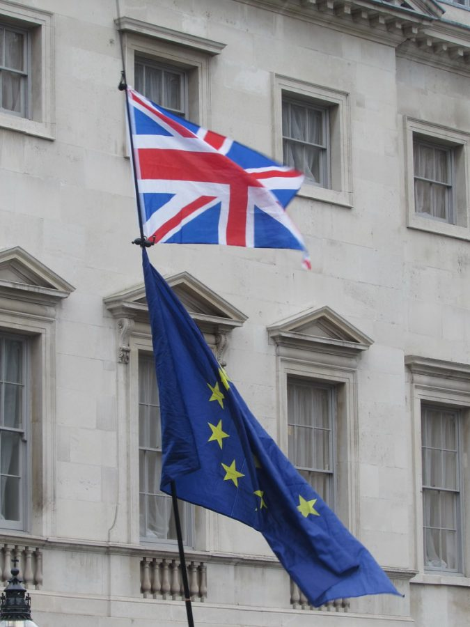These flags represented the union of Britain with the EU outside of British Parliament. However, after decades of political strife, these flags will serve as a reminder of a former union.