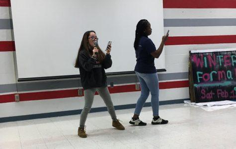 Karaoke night comes to McLean High School