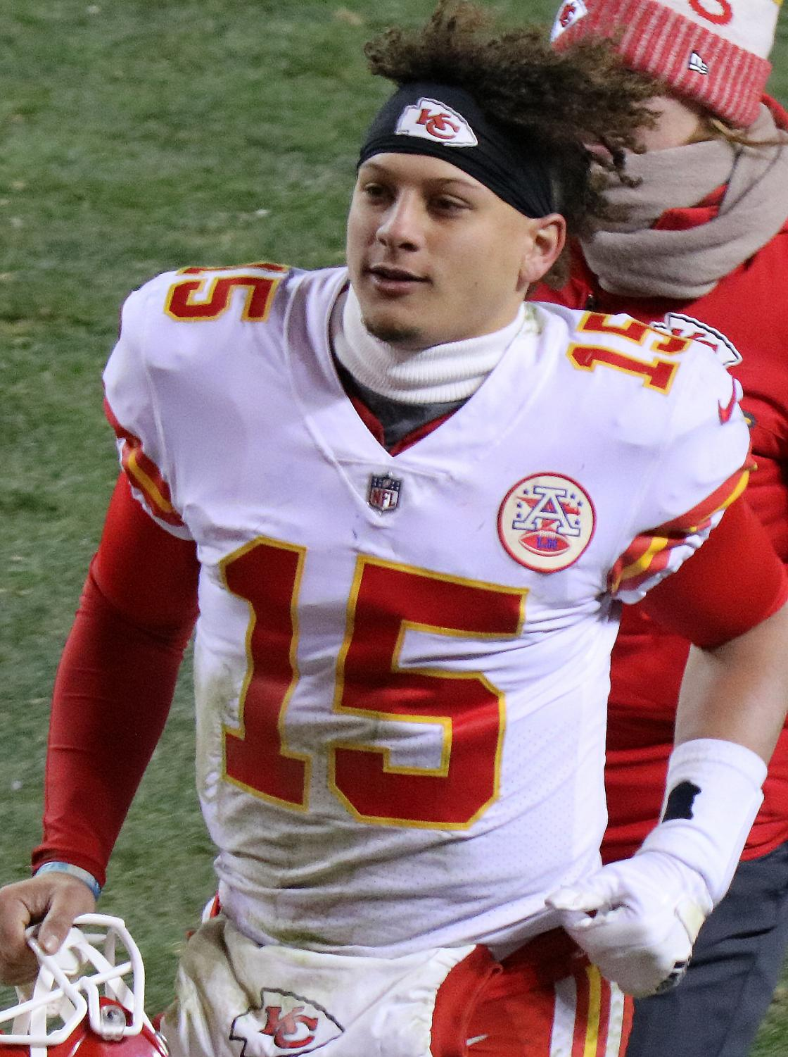 Patrick Mahomes, the quarterback of the Kansas City Chiefs, was named MVP of Super Bowl LIV. (photo obtained via google images under a creative commons license.)