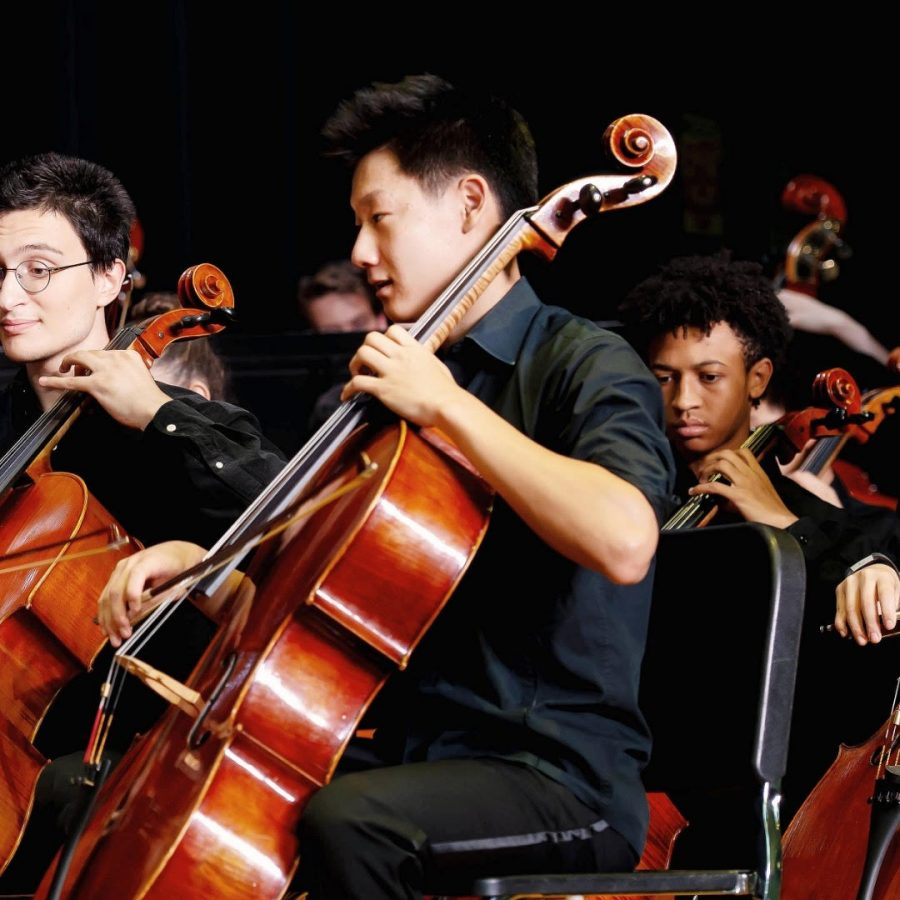 Han+leads+the+cello+section+of+Philharmonic+Orchestra+in+a+school+concert+during+his+junior+year.+This+year%2C+he+will+play+the+Haydn++Concerto+in+C+Major+as+his+senior+solo.+