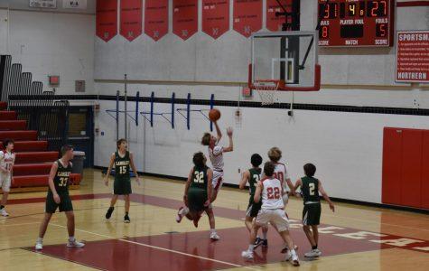 Boys freshman basketball beat Langley