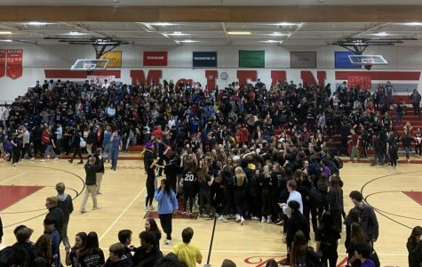 Friday's pep rally raises energy for home game against Langley