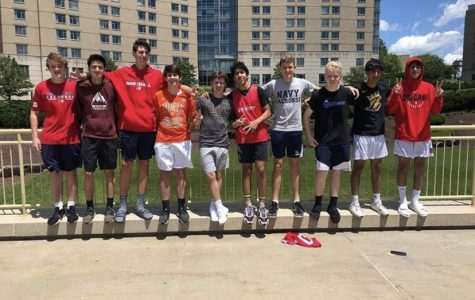 Last year, both the jv, and varsity level basketball teams participated in a college camp at U-Pitt. The program went on to go undefeated through the course of the camp.