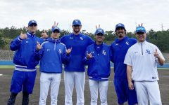 Samsung Lions players return to practice despite COVID-19.
