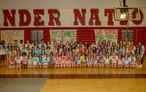 McDance-A-Thon poses for a picture right before their last in-person dance.