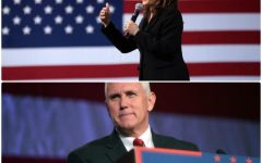 VP Face Off — Kamala Harris and Mike Pence both share their viewpoints prior to the debate. (images obtained via CreativeCommons)