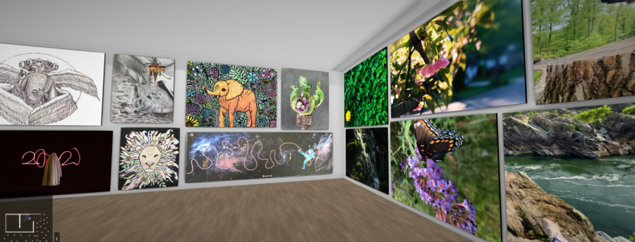 McLean holds first virtual art show