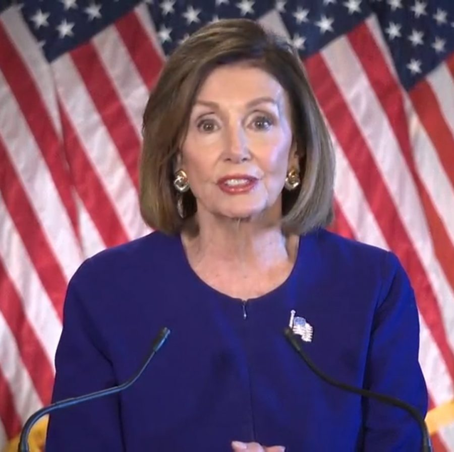Speaker Nancy Pelosi announces impeachment inquiry into President Trump. Photo obtained by Wikinews Creative Commons.