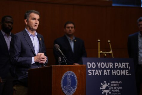 PRESSING MATTERS - Virginia Governor Ralph Northam issues a nightly curfew among other restrictions during a briefing on Thursday, Dec. 10. The curfew is the newest measure aimed at stopping the spread of COVID-19. (Image obtained via Flickr under a Creative Commons license)