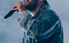 """Top of the Top–Abel Tesfaye, also known as The Weeknd, performs """"Blinding Lights"""" from his My Dear Melancholy album in 2018. After the performance, """"Blinding Lights"""" remained within the top 10 songs on the Billboard charts for over a year, becoming the biggest Billboard Hot 100 chart hit of the century. (Image obtained via Nicolas Padovani under a Creative Commons license)"""