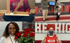 The McLean Instagram page posts teachers and other faculty holding numbers counting down the days until the start of in-person learning. Images obtained via @mclean_high on Instagram.