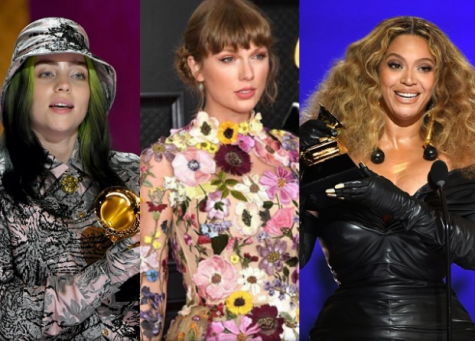 Women sweep — All major awards this year were won by women. In addition to this, Beyoncé and Taylor Swift both had record setting wins.