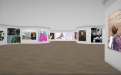 VIRTUAL GALLERY EXPERIENCE — Visitors can walk through the gallery and click on the artwork.