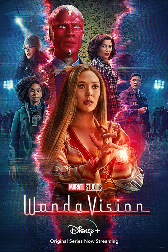 Wandavision introduces a new phase for the MCU (Disney +)
