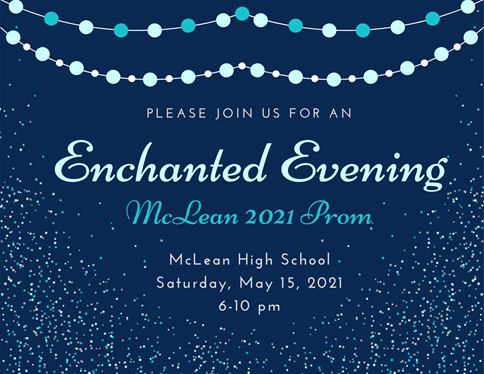 Prom 2021 coming up this Saturday