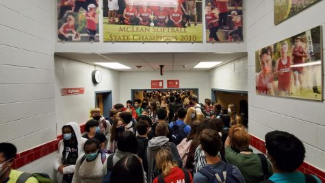 Overcrowded hallways make social distancing impossible while changing classes. Without a robust case handling procedure, there is a higher risk of outbreak in the school environment.